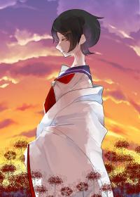 千代子のイラスト