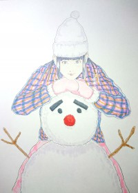 saku のイラスト