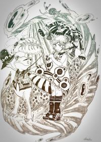 けめ子のイラスト