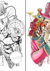 櫻 サキのイラスト